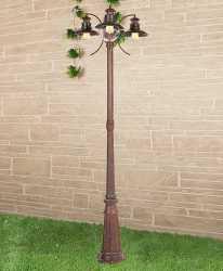 Садовый светильник Elektrostandard Talli F/3 брауни