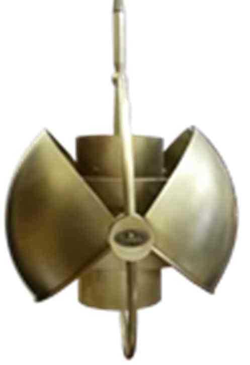 """Г00446682 Светильник подвесной """"Гусевъ №276"""" с изменяемой формой плафона, Е27, 350х400мм, латунь"""