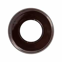 BF2-610-02 Bironi Рамка одноместная, коричневый, керамика
