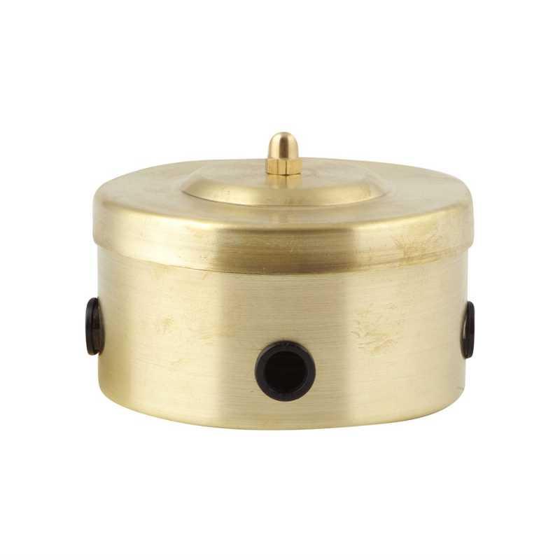 М1-25-22 Короб распределительный, золото