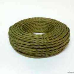 Interior Wire Провод двухжильный ПВХ, в полиэфирной оплетке, ПРВ 2х2.5, цвет хаки, , Кратность заказа: 1, Гарантия: 12 месяцев, Тип изделия: Провод, Цвет: Хаки, Тип монтажа: Открытый, Сечение: 2,5, Количество жил: 3, Материал корпуса: ПРВ, Единицы измерения: метры, Артикул производителя: ПРВ 2х2.5 хаки, Производитель: Interior Wire, Страна: Россия