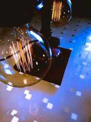 Настольная лампа лофт Процесс из чугуна