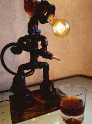 Лампа и друг Наливатор из чугуна