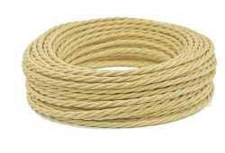 Провод витой Interior Wire 2х1.5 (сл. Кость) арт.00313995