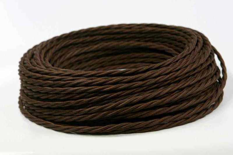Провод витой Interior Wire 2х1.5 (шоколад) арт.00314062