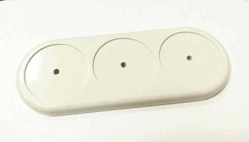 Interior Electric Подложка серии IE, 3-ая, с посад. местом, белая