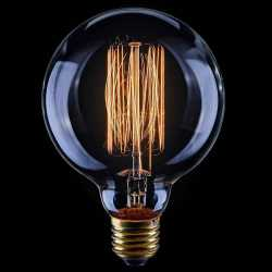 Лампа накаливания Voltega Loft большой шар прозрачный E27 60W G95 2200K VG6-G95A1-60W 5923