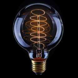 Лампа накаливания Voltega Loft шар прозрачный E27 40W G80 2200K VG6-G80A2-40W 5924
