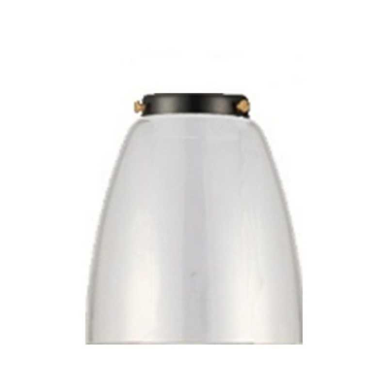 Плафон WL57A D140 Прозрачное стекло 058-537