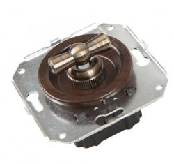 CL31WG Выключатель перекрестный для внутреннего монтажа, венге