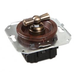 CL31CH Выключатель перекрестный для внутреннего монтажа, вишня