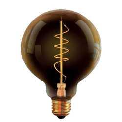 Лампа светодиодная диммируемая Voltega большой шар прозрачный E27 LED 4W 2800K VG10-G95GE27warm4W-FB 7076