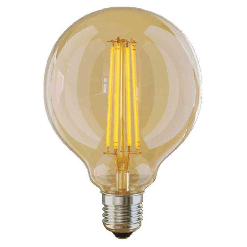 Лампа светодиодная Voltega большой шар прозрачный E27 6W 2800K VG10-G95GE27warm6W 7084