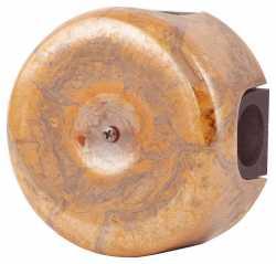 080-590 Распаячная коробка. Мон шери 4 вывода с резиновым уплотнителем.