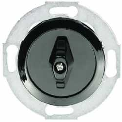 Переключатель поворотный одноклавишный (схема 6) 16 A, 250 B (черный) 880708-1