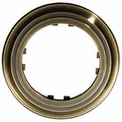 Рамка 1-постовая круглая (бронза) 889127-1