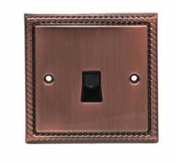 Телефонная розетка TJ Electric CME8901-4TU-BZ