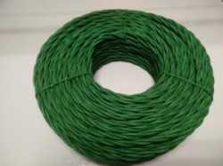 DV003443 Ретро проводка DVCab провод витой «Зеленый» 2*0,75