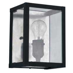 Настенный светильник Ideal Lux Igor AP1 Nero