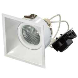 Встраиваемый светильник Lightstar DOMINO QUADRO 214506 MR16 БЕЛЫЙ