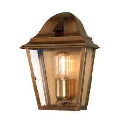 Уличный настенный светильник Gilden Nola ST JAMES BRASS