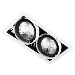 Карданный светильник Ambrella CARDANO T812 BK / CH 2*12W 4200K