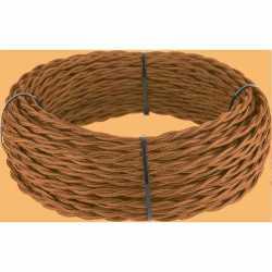 Ретро кабель витой 2х1,5 (медный) арт.WL00416