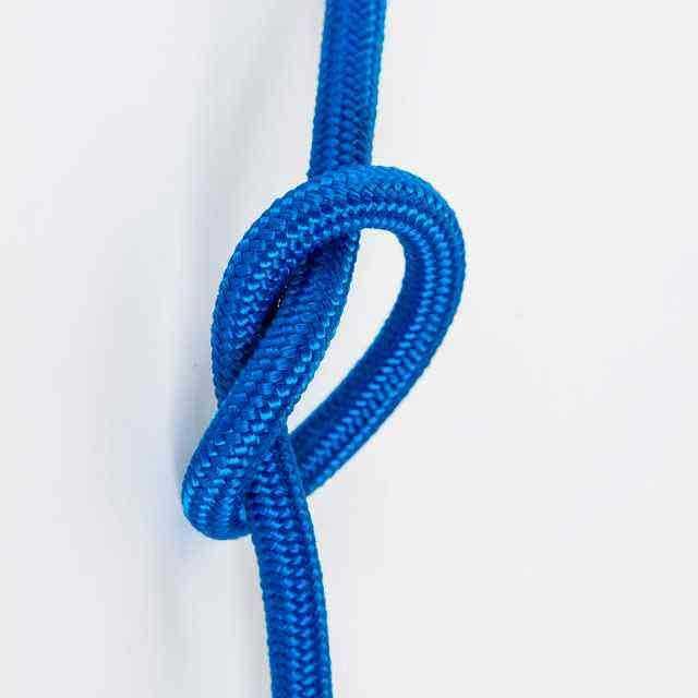 Антенный кабель одножильный круглый Villaris 1110107, матерчатый провод, цвет - синий