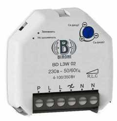 BD-L3W-02 Bironi Диммер белый