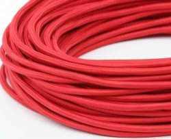 Провод декоративный круглый ПДК (Красный) 2х1.5, , Кратность заказа: 1, Гарантия: 12 месяцев, Тип изделия: Провод, Цвет: Красный, Тип монтажа: Открытый, Сечение: 1,5, Количество жил: 2, Единицы измерения: метры, Артикул производителя: 142, Производитель: Interior Wire, Страна: Россия