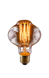 Лампа винтажная Voltega LOFT лампада янтарь E27 60W L85 VG6-L85A1-60W (6487)