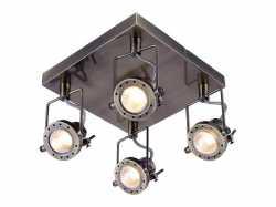 Спот Arte Lamp Costruttore A4300PL-4AB