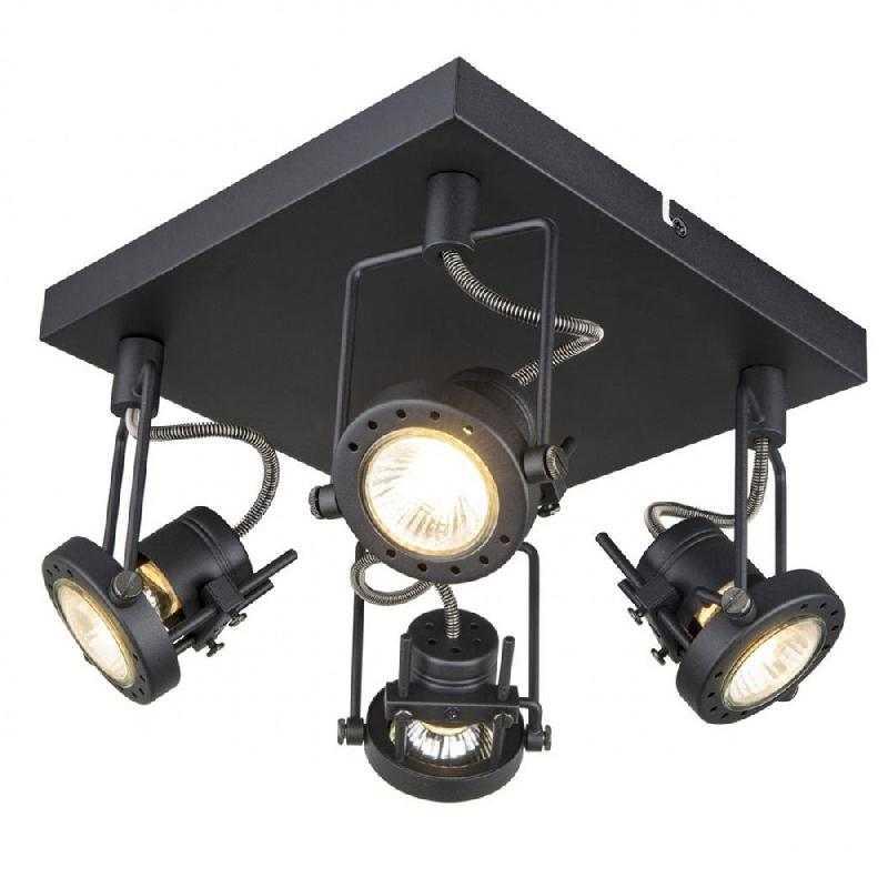 Спот Arte Lamp Costruttore A4300PL-4BK
