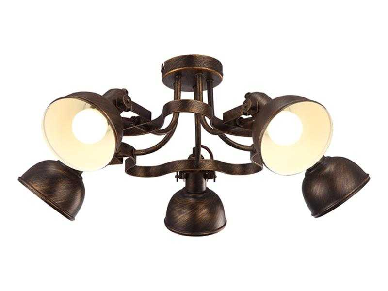 Потолочная люстра Arte Lamp Martin A5216PL-3BR