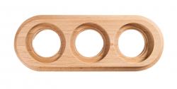 BFC2..-630-19 Bironi Рамка трехместная на бревно, , Кратность заказа: 1, Гарантия: 12 месяцев, Тип изделия: Рамка на бревно, Цвет: Русский лес, Тип монтажа: На бревно , Материал корпуса: Дерево, Единицы измерения: штуки, Артикул производителя: BFC2..-630-19, Производитель: Bironi, Диаметры: 220, Страна: Россия