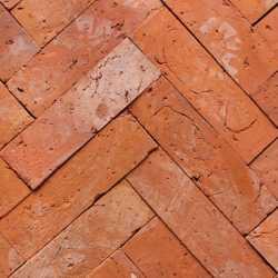 Лофт плитка для полов ЦэгПУ Cegla из старинного кирпича (узкая)