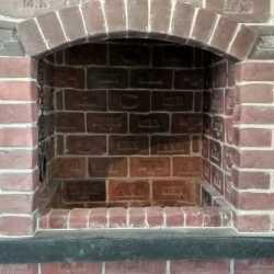 Лофт кирпич для печей и каминов с клеймом Царский Кирпич глина (малый)
