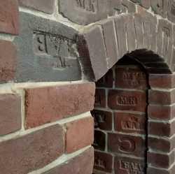 Лофт кирпич для печей и каминов с клеймом Царский Кирпич глина