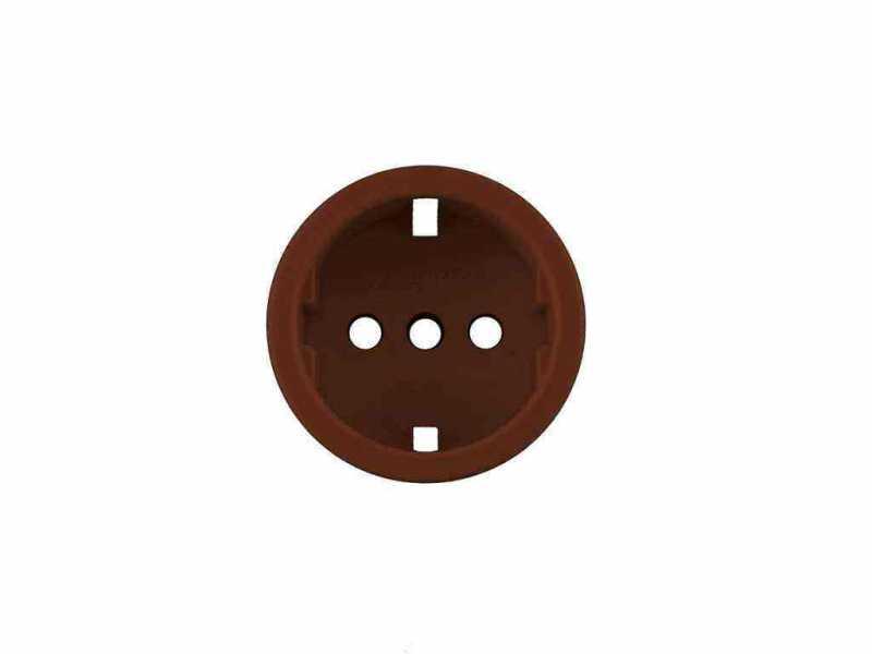 Leanza Накладка пластиковая для розетки, цвет bruno (коричневый) НПРК