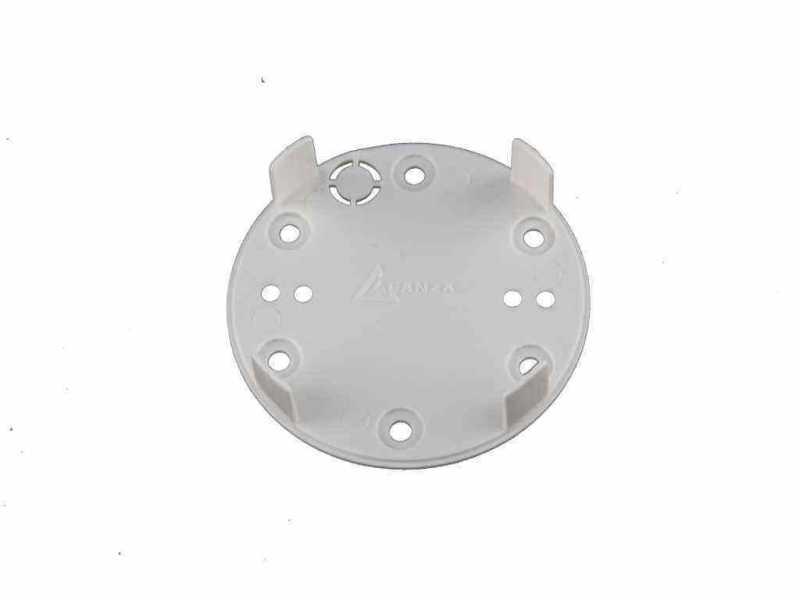 Leanza основание пластиковое для розетки и выключателя, цвет bianco (белый) ОПВБ
