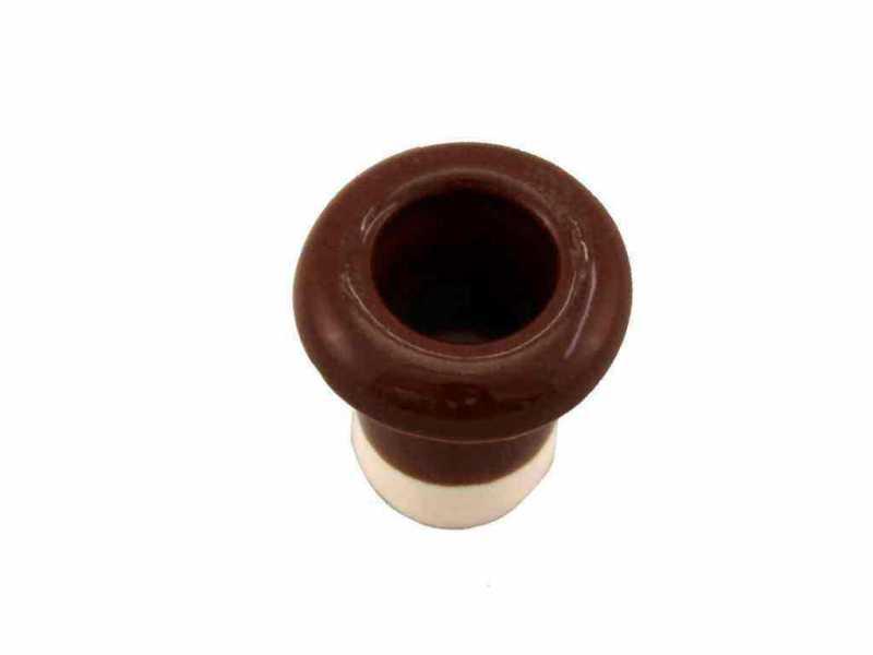 Leanza Втулка межстеновая фарфоровая, цвет bruno (коричневый) ВМК