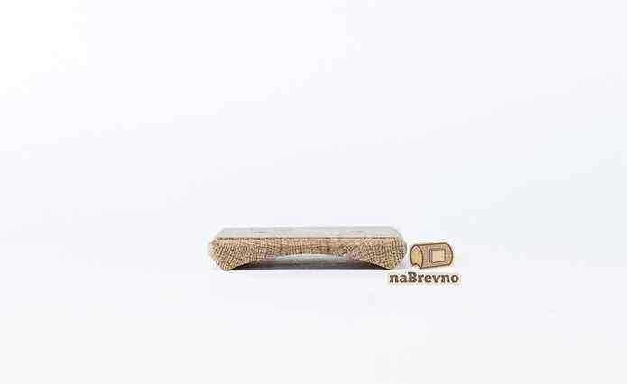 RK2-180-D Накладка на бревно 180 мм для распределительной коробки до 90 мм, дуб
