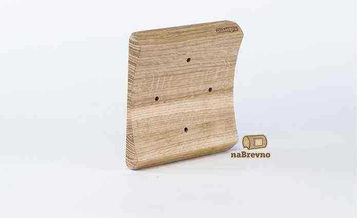 RK4-220-D Накладка на бревно 220 мм для распределительной коробки до 105 мм, дуб