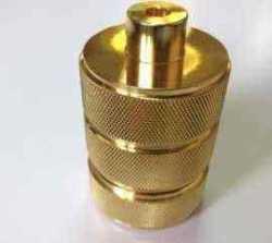 Патрон в стиле ретро для лампы светлое золото с рефлением,