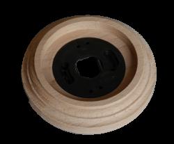 """RD-01420 Рамка одинарная, """"Натур. дерево"""", на бревно 240, , Совместимость: фурнитура Bironi, Retrika, Sun-Lumen, Кратность заказа: 1, Гарантия: 12 месяцев, Тип изделия: Рамка на бревно, Цвет: Натуральное дерево, Тип монтажа: На бревно, Материал корпуса: Дерево, Единицы измерения: штуки, Артикул производителя: RD-01420, Производитель: Retrika, Диаметры: 240, Страна: Россия"""