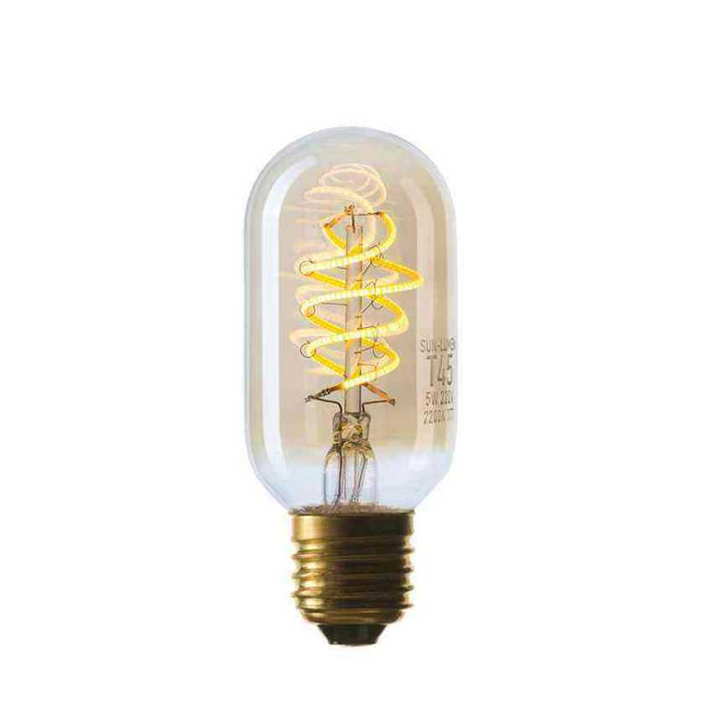 Лампа T45 LED 5W SF-8, Golden, IC, E27 056-953