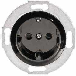 883208-1 Розетка с з/к, со шторками (черный) Vintage, , Производитель: Vintage, Гарантия: 12 месяцев, Тип монтажа: Встроенный, Совместимость: Vintage, Кратность заказа: 1, Тип изделия: Розетка электрическая, Цвет: Черный, Страна: Россия, Единицы измерения: штуки, Материал корпуса: Пластик, Артикул производителя: 883208-1