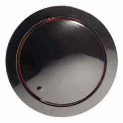 887108-1 Накладка светорегулятора со световой индикацией (черный) Vintage
