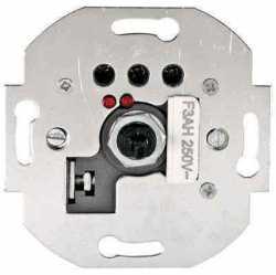 887200-1 Механизм светорегулятора со световой индикацией, поворотный, нажимной, с предохранителем, W= 600 Вт; Vintage