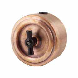 М1-11-23 Выкл 1кл, проходной, медь, , Совместимость: Vintage, Кратность заказа: 1, Гарантия: 12 месяцев, Тип изделия: Выключатель поворотный, Цвет: Медь, Тип монтажа: Открытый, Материал корпуса: Латунь, Единицы измерения: штуки, Артикул производителя: М1-11-23, Производитель: Vintage, Страна: Россия